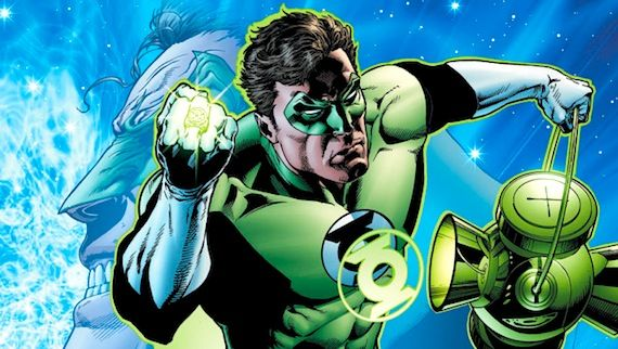 green lantern rebirth by ethan van sciver Green Lantern: The Comic Books vs. The Movie