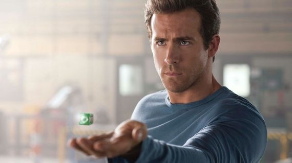 green lantern ryan reynolds as hal jordan Green Lantern: The Comic Books vs. The Movie