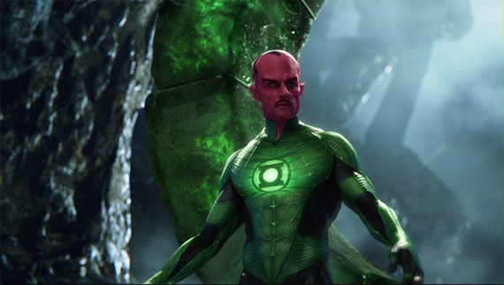 green lantern sinestro1 Movie Image Roundup: Green Lantern, Three Musketeers, Cars 2 and More [Updated]