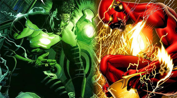 green lantern the flash movies1 Writers Tapped For The Flash & Green Lantern 2