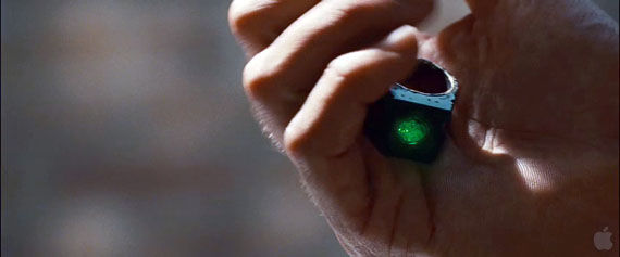 green lantern trailer107 Hal Jordan holds the power ring