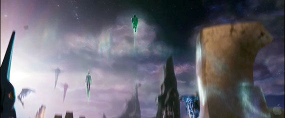 green lantern trailer109 A look at Oa from the Green Lantern movie