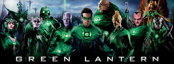 greenlanternmoviebanner Green Lantern Gets Bigger Effects Budget; New Lantern Corps Posters [Updated]