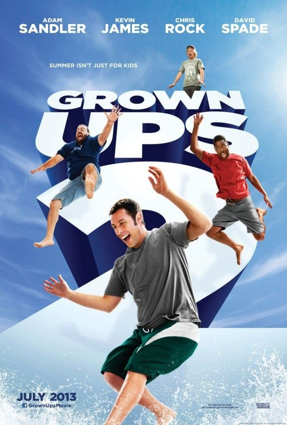grown ups 2 poster 570x844 Grown Ups 2 Trailer: Adam Sandler and His Friends Are Back