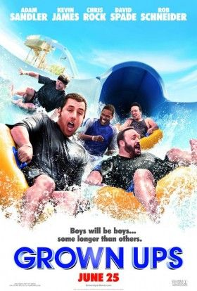 grown ups poster2 280x414 Screen Rants 2010 Summer Movie Preview