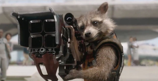 guardians galaxy trailer rocket raccoon Guardians of the Galaxy TV Trailer; Lee Pace Talks Ronan the Accuser