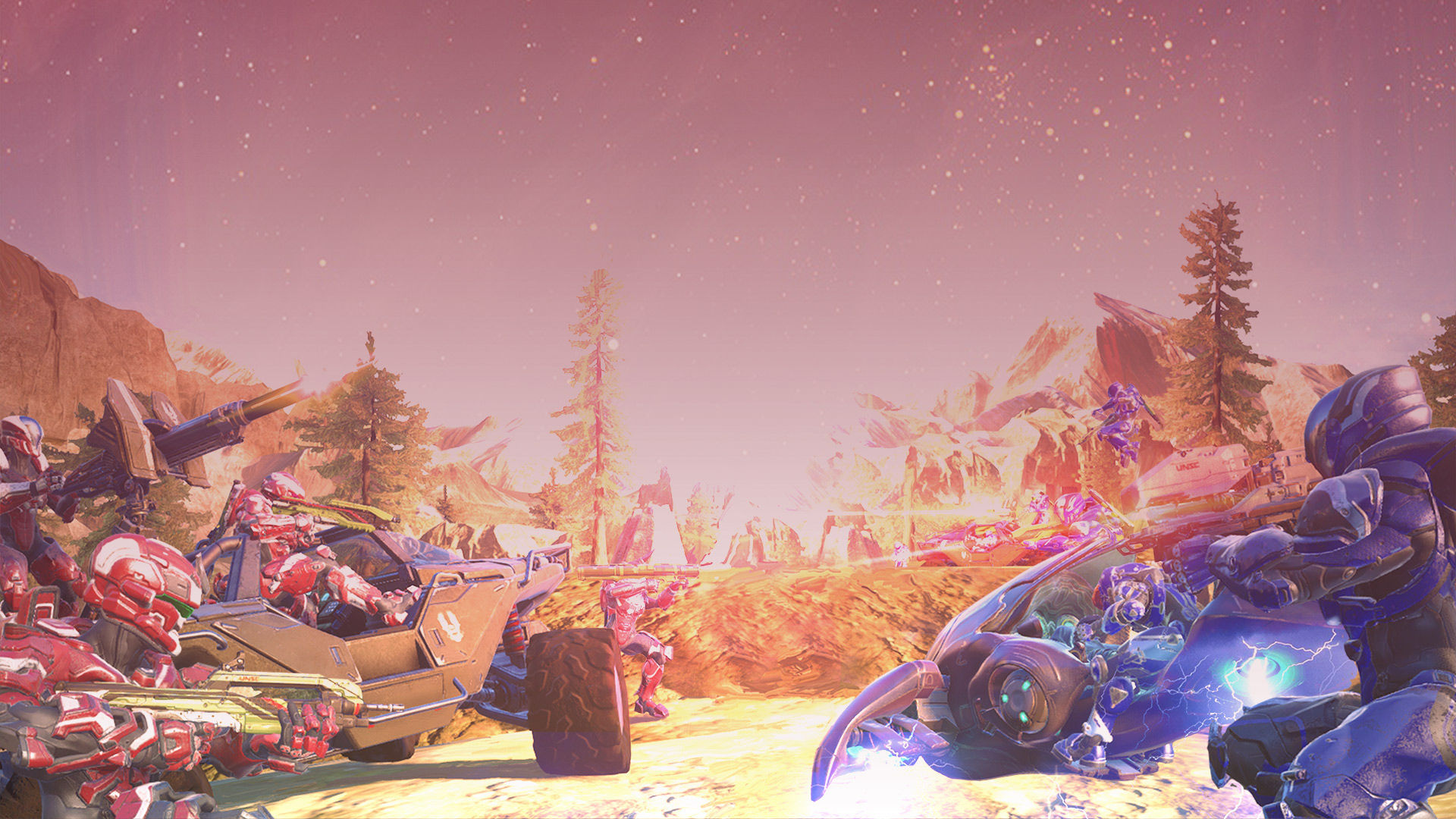 Halo 5's First Free DLC: Big Team Battle, New Weapons, New