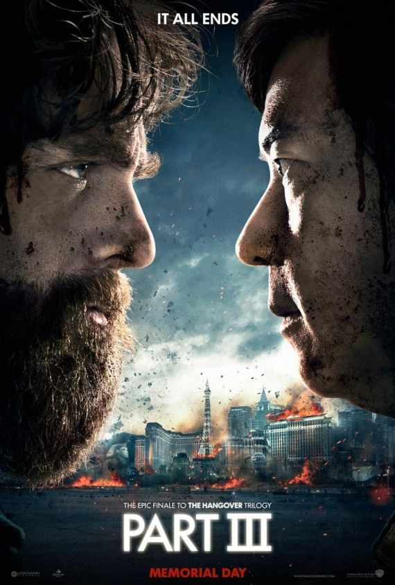 hangover 3 poster 570x844 The Hangover Part 3 Trailer: The Wolfpack Heads to Vegas One Last Time
