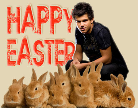 Happy Easter from Taylor Lautner - 10 Badass Rabbits (That Aren't the Easter Bunny)