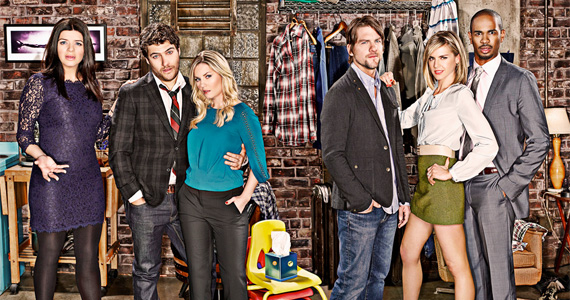 happyendings cast apartment Happy Endings Could Head to USA if Canceled by ABC