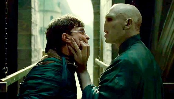 harry potter and the deathly hallows part 2 harry versus voldemort Harry Potter Featurette Shows Us The Trios First Screen Test