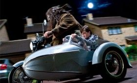 harry potter deathly hallows daniel radcliffe robbie coltrane 280x170 9 Hi Res Photos from Deathly Hallows Part 1