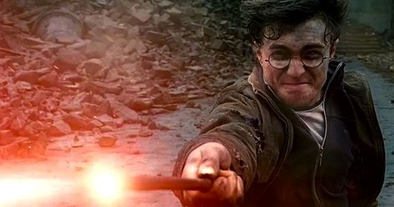 harry potter deathly hallows part 2 harry death scene Harry Potter Featurette Shows Us The Trios First Screen Test