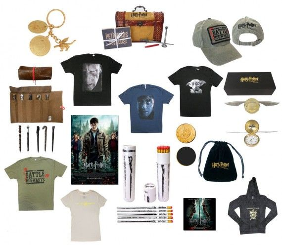 harry potter prize pack 570x496 Harry Potter Mega Prize Pack   Winner!