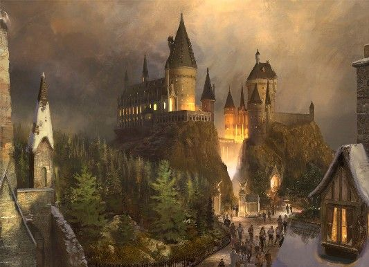 harry potter theme park 2 The Wizarding World of Harry Potter Construction Photos