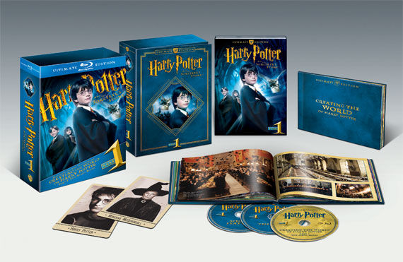 harry potter year 1 set Win Harry Potter Ultimate Edition 1 & 2 + Blu ray Player!