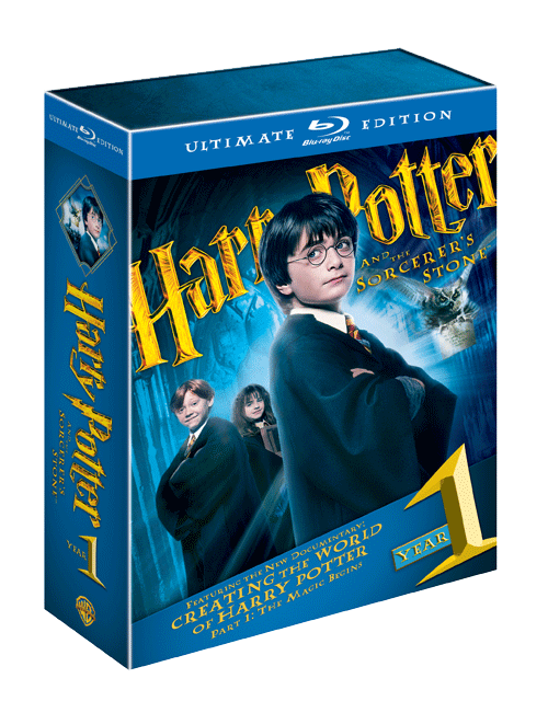 harry potter year 1 Win Harry Potter Ultimate Edition 1 & 2 + Blu ray Player!