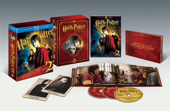 harry potter year 2 set Win Harry Potter Ultimate Edition 1 & 2 + Blu ray Player!