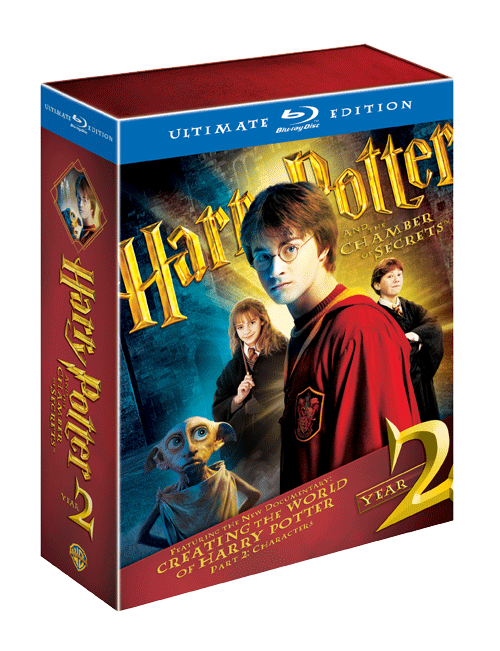 harry potter year 2 Win Harry Potter Ultimate Edition 1 & 2 + Blu ray Player!