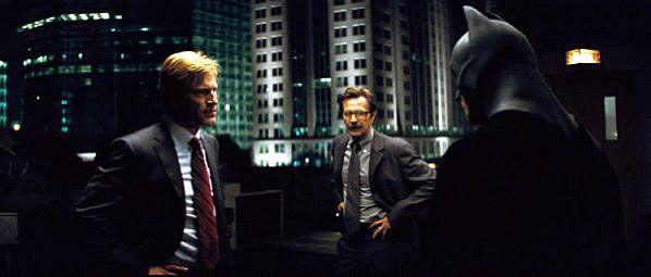 harvey dent gordon batman The Dark Knight IMAX Review