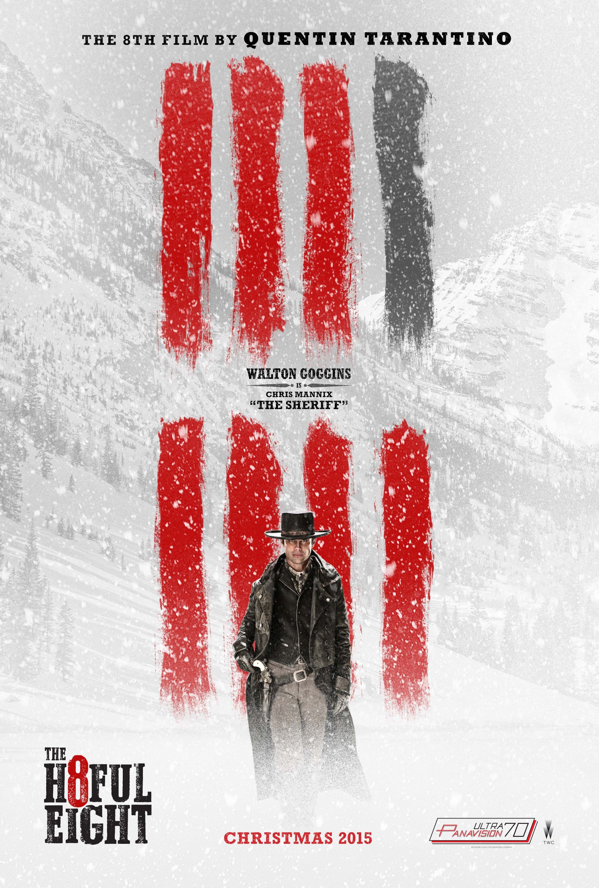 The hateful eight release date in Perth