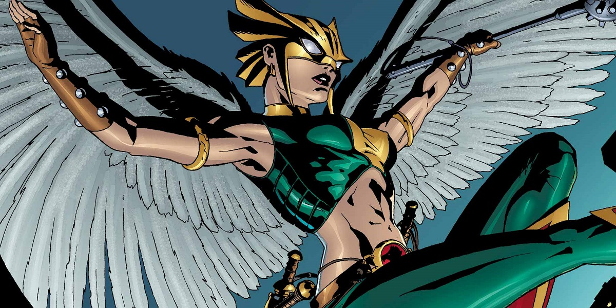Image result for hawkgirl dc mace