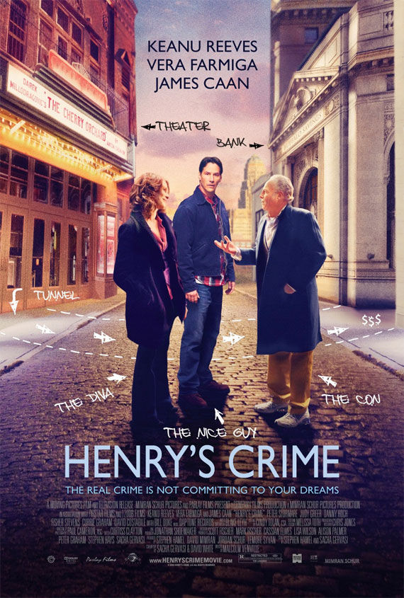 henrys crime poster Movie Poster Roundup: Fast Five, Thor, X Men: First Class & More