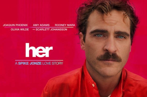 her trailer spike jonze 570x378 Her Trailer: Joaquin Phoenix Falls in Love with Scarlett Johansson A.I.
