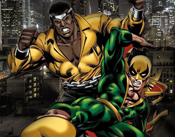 heroes for hire iron fist luke cage ray park Iron Fist & Luke Cage in Heroes for Hire Movie?