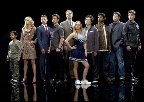 heroes group image Heroes Renewed For Season 4   Do You Care?