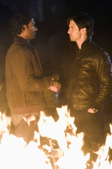 mohinder and peter petrelli in nbc heroes volume 4