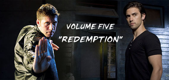 heroes ray park peter petrelli volume 5 redemption Heroes Volume 5 Video: Ray Park vs. Peter Petrelli
