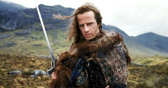 Christopher Lambert in 'Highlander'