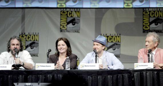hobbit comic con1 Hobbit Set Video #8: Comic Con & Final Days of Shooting