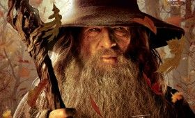 hobbit cover gandalf 280x170 The Hobbit: An Unexpected Journey: New TV Spot, Magazine Covers & Running Time Revealed