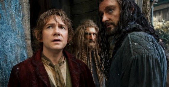 hobbit desolation smaug bilbo thorin 570x294 The Hobbit: The Desolation of Smaug vs. The Two Towers