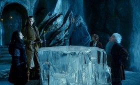 hobbit trailer gandalf elrond 280x170 The Hobbit: An Unexpected Journey Trailer Is Here!