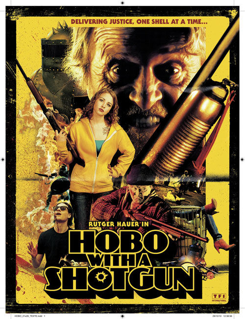 hobo with a shotgun poster 1 Movie Media: Posters & Images Round up