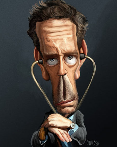 House Fan Art - Caricature