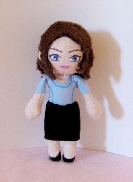 House Fan Art - Cuddy Doll