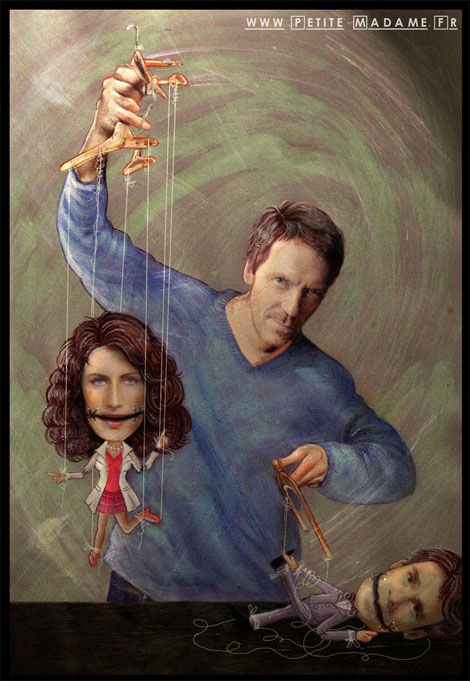 House Fan Art - Puppets
