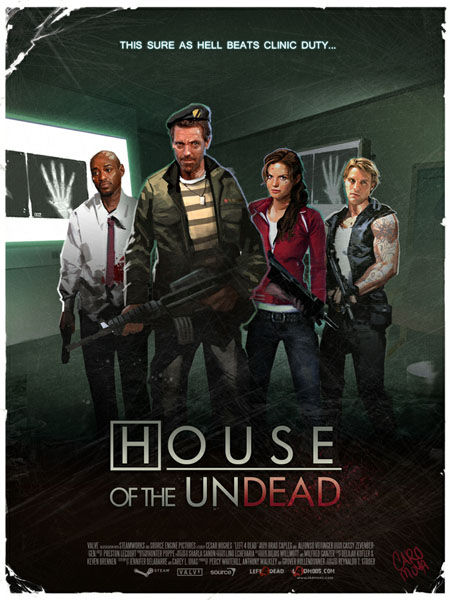 House Fan Art - Undead