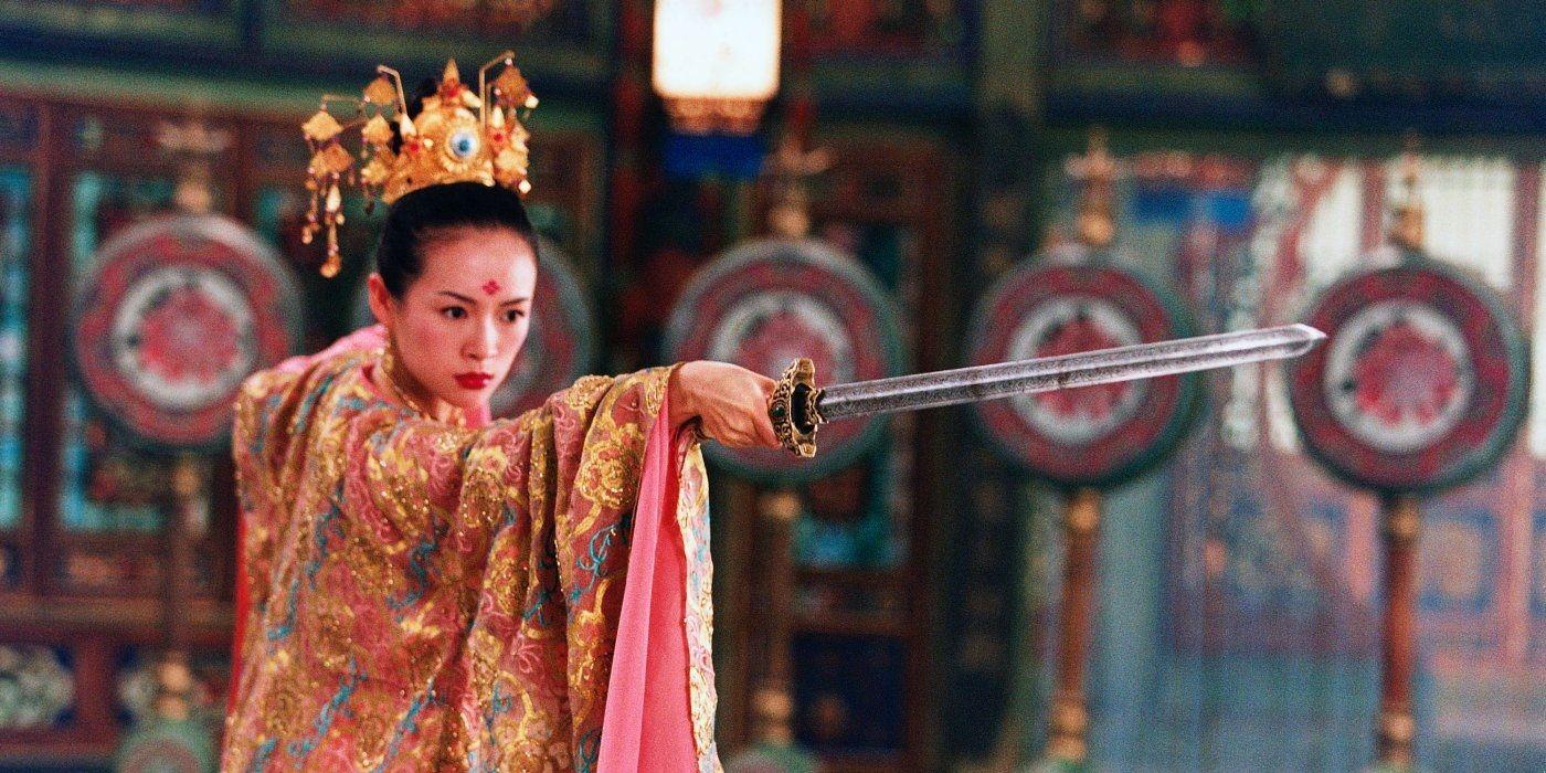 house_of_flying_daggers zhang ziyi most badass women warriors in film