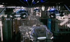 hovercar chase total recall trailer 280x170 Total Recall Trailer: Colin Farrells A Futuristic Super Spy On the Run