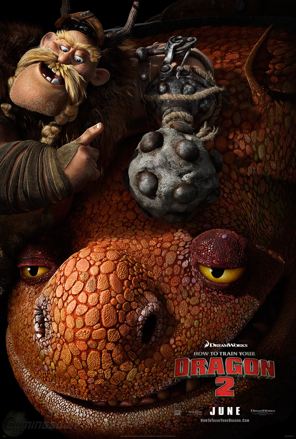 New How To Train Your Dragon 2 Trailer Preview And Poster