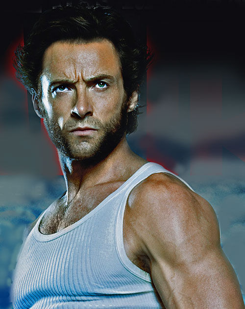 Hugh Jackman buffed out for Wolverine movie