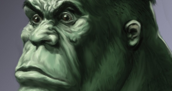 Concept Art Hulk Concept Art From