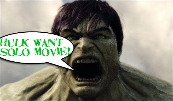 Hulk wants a sequel