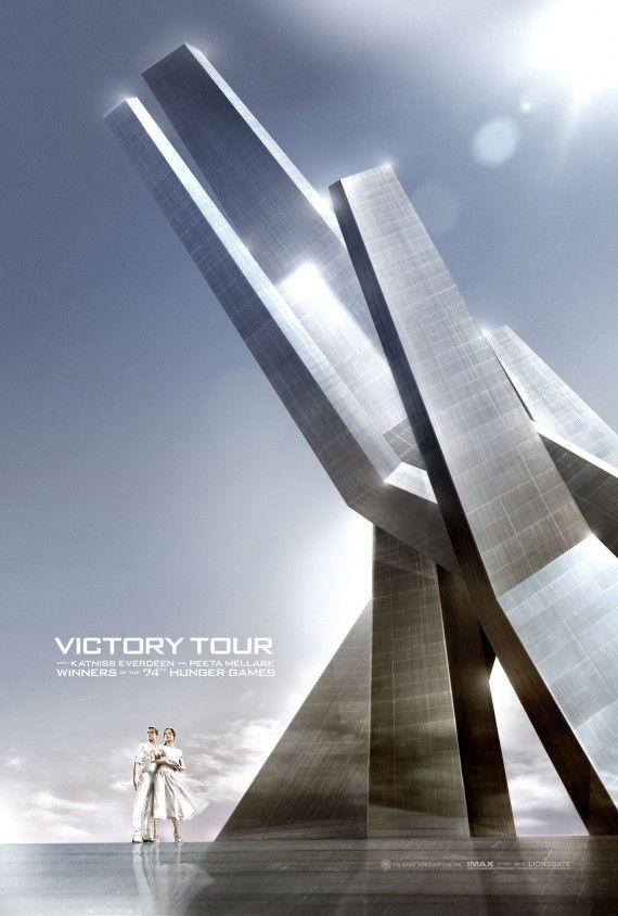 hunger games catching fire victory poster 570x844 The Hunger Games: Catching Fire Victory Poster