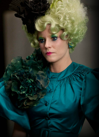 hunger games effie trinket image Elizabeth Banks as Effie Trinket in The Hunger Games